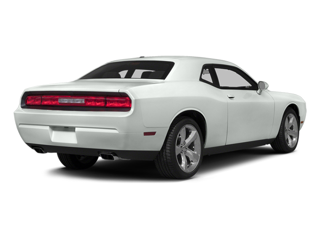 Bright White Clearcoat 2014 Dodge Challenger Pictures Challenger Coupe 2D R/T V8 photos rear view