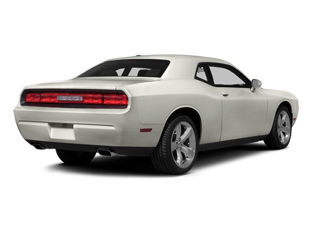 Ivory Tri-Coat Pearl 2014 Dodge Challenger Pictures Challenger Coupe 2D R/T V8 photos rear view