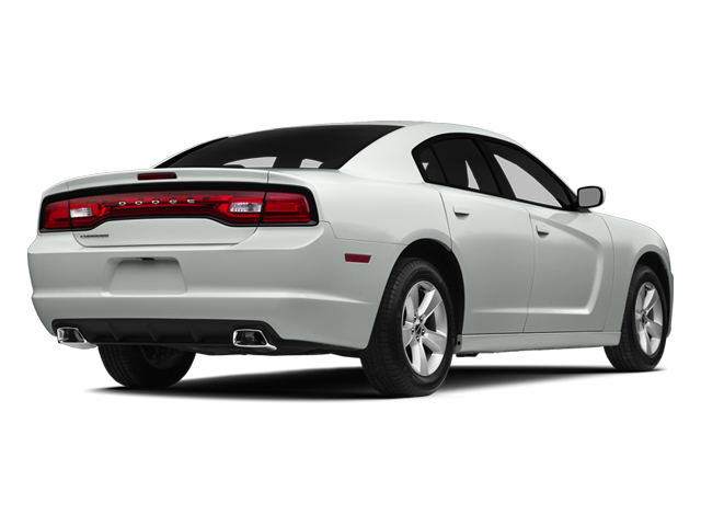 Bright White Clearcoat 2014 Dodge Charger Pictures Charger Sedan 4D SXT V6 photos rear view