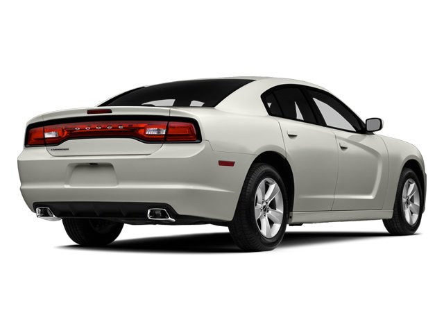 Ivory Tri-Coat Pearl 2014 Dodge Charger Pictures Charger Sedan 4D SE AWD V6 photos rear view