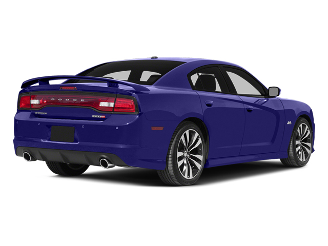 Plum Crazy Pearlcoat 2014 Dodge Charger Pictures Charger Sedan 4D SRT-8 V8 photos rear view