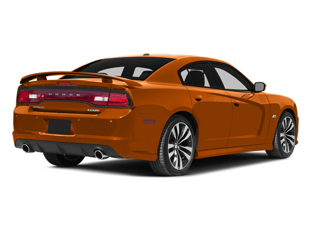 Header Orange Clearcoat 2014 Dodge Charger Pictures Charger Sedan 4D SRT-8 V8 photos rear view