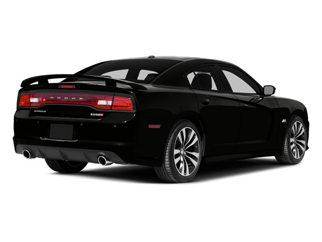 Pitch Black 2014 Dodge Charger Pictures Charger Sedan 4D SRT-8 V8 photos rear view