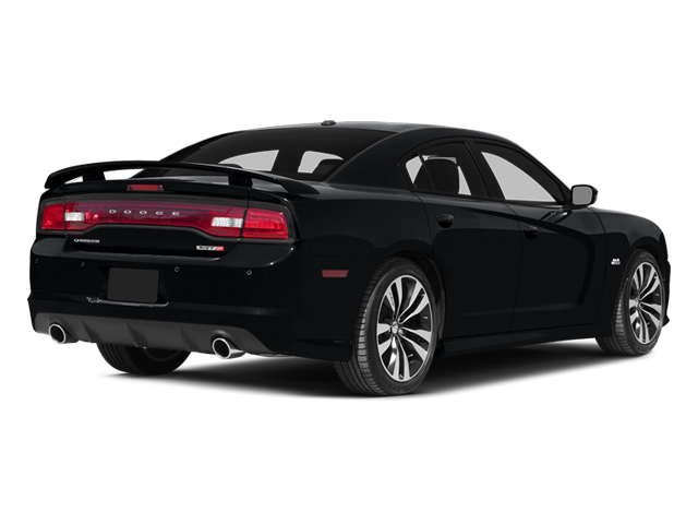 Phantom Black Tri-Coat Pearl 2014 Dodge Charger Pictures Charger Sedan 4D SRT-8 V8 photos rear view