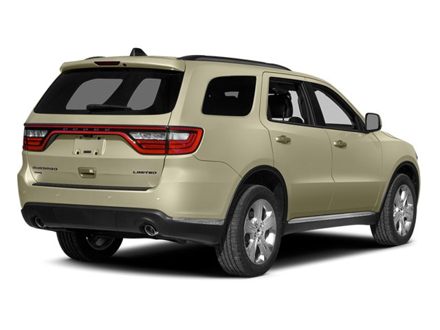 Sandstone Pearlcoat 2014 Dodge Durango Pictures Durango Utility 4D Limited 2WD V6 photos rear view