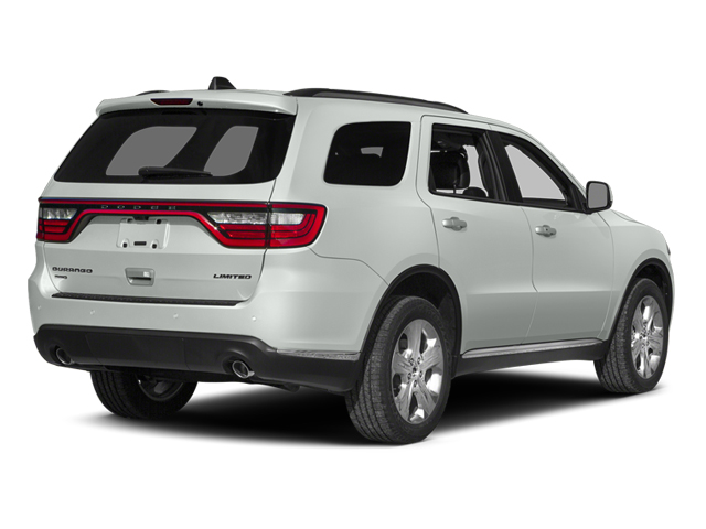 Bright White Clearcoat 2014 Dodge Durango Pictures Durango Utility 4D Citadel AWD V6 photos rear view