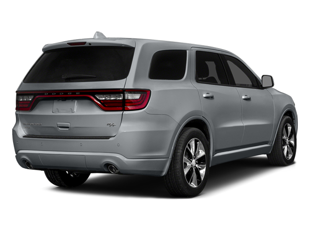 Billet Silver Metallic Clearcoat 2014 Dodge Durango Pictures Durango Utility 4D R/T AWD V8 photos rear view