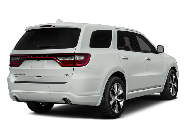 Bright White Clearcoat 2014 Dodge Durango Pictures Durango Utility 4D R/T AWD V8 photos rear view