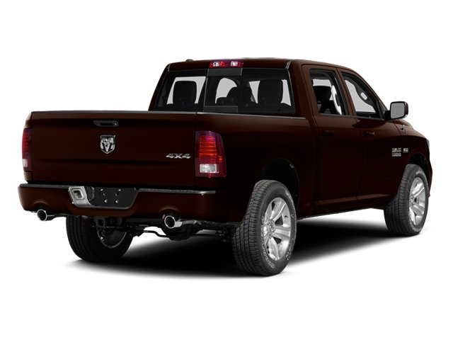 Western Brown 2014 Ram Truck 1500 Pictures 1500 Crew Cab Tradesman 2WD photos rear view