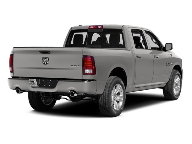 Bright Silver Metallic Clearcoat 2014 Ram Truck 1500 Pictures 1500 Crew Cab Tradesman 2WD photos rear view
