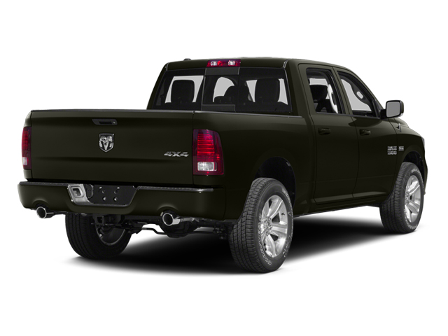 Black Gold Pearlcoat 2014 Ram Truck 1500 Pictures 1500 Crew Cab Tradesman 2WD photos rear view