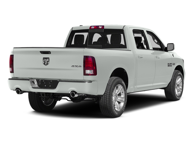Bright White Clearcoat 2014 Ram Truck 1500 Pictures 1500 Crew Cab Tradesman 2WD photos rear view