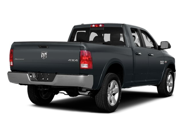 Maximum Steel Metallic Clearcoat 2014 Ram Truck 1500 Pictures 1500 Quad Cab Express 4WD photos rear view