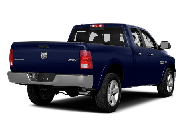 True Blue Pearlcoat 2014 Ram Truck 1500 Pictures 1500 Quad Cab Outdoorsman 4WD photos rear view
