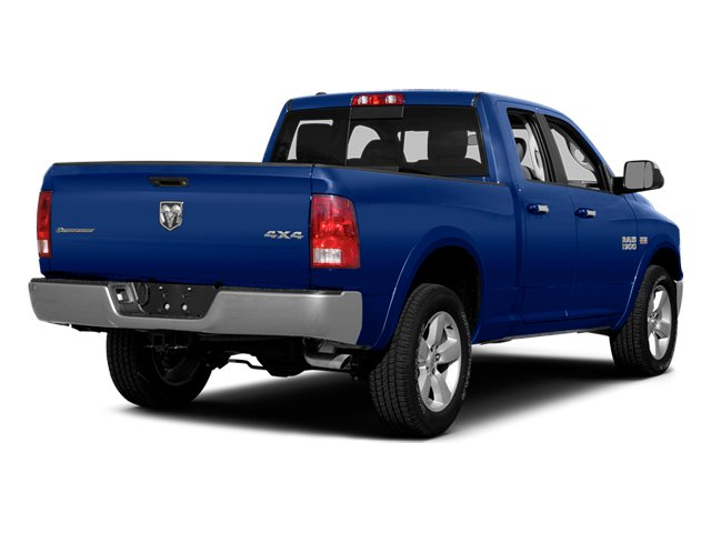 Blue Streak Pearlcoat 2014 Ram Truck 1500 Pictures 1500 Quad Cab Express 4WD photos rear view
