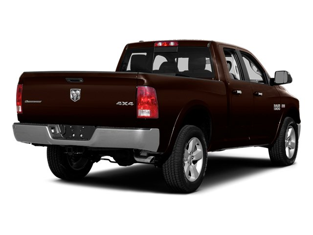 Western Brown 2014 Ram Truck 1500 Pictures 1500 Quad Cab Express 4WD photos rear view