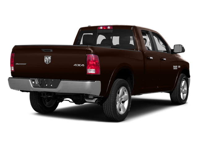 Western Brown 2014 Ram Truck 1500 Pictures 1500 Quad Cab Outdoorsman 4WD photos rear view