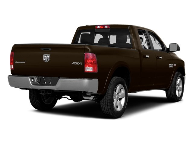 Black Gold Pearlcoat 2014 Ram Truck 1500 Pictures 1500 Quad Cab Outdoorsman 4WD photos rear view