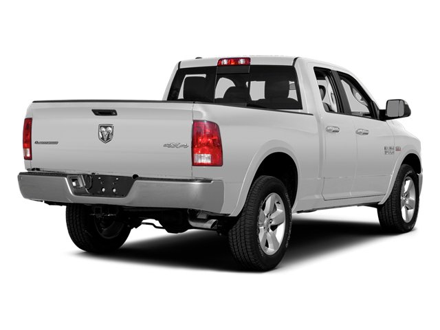 Bright White Clearcoat 2014 Ram Truck 1500 Pictures 1500 Quad Cab Express 4WD photos rear view