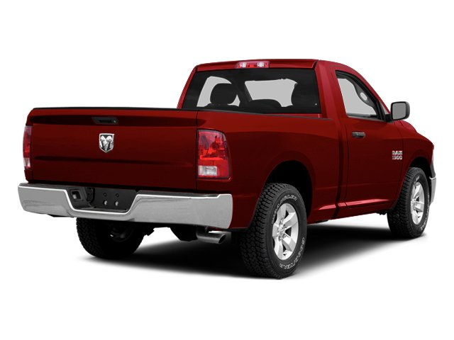 Agriculture Red 2014 Ram Truck 1500 Pictures 1500 Regular Cab Tradesman 4WD photos rear view