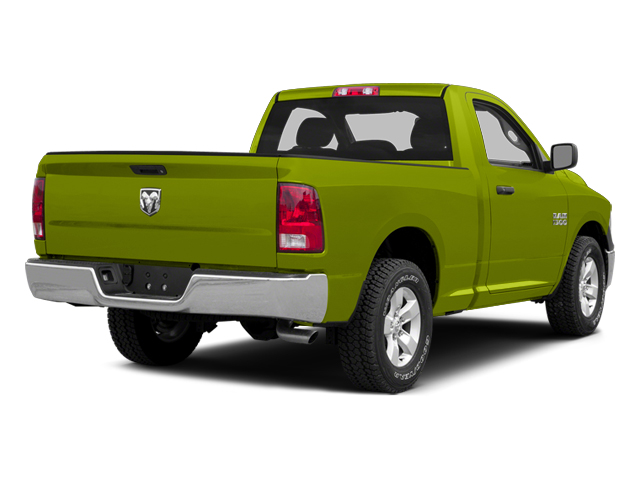 National Safety Yellow 2014 Ram Truck 1500 Pictures 1500 Regular Cab Tradesman 4WD photos rear view