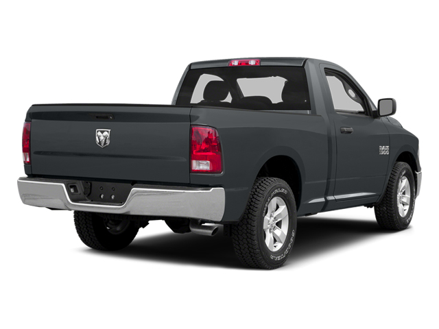 Maximum Steel Metallic Clearcoat 2014 Ram Truck 1500 Pictures 1500 Regular Cab R/T 2WD photos rear view