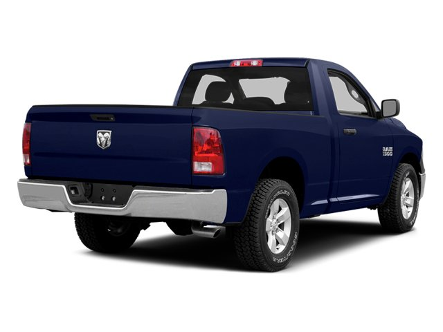 True Blue Pearlcoat 2014 Ram Truck 1500 Pictures 1500 Regular Cab R/T 2WD photos rear view