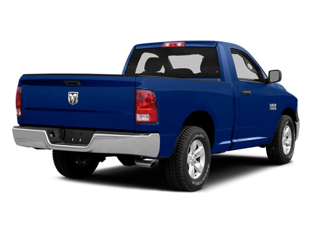 Blue Streak Pearlcoat 2014 Ram Truck 1500 Pictures 1500 Regular Cab R/T 2WD photos rear view