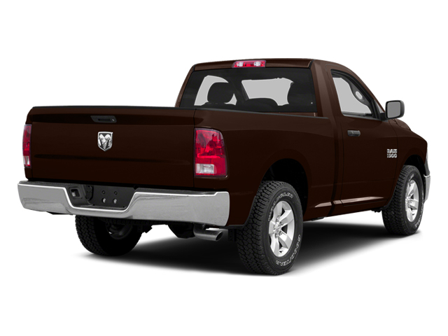 Western Brown 2014 Ram Truck 1500 Pictures 1500 Regular Cab Tradesman 4WD photos rear view