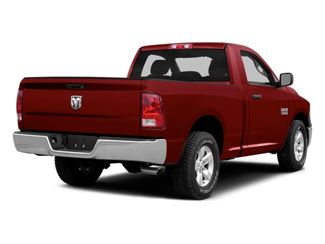 Deep Cherry Red Crystal Pearlcoat 2014 Ram Truck 1500 Pictures 1500 Regular Cab R/T 2WD photos rear view