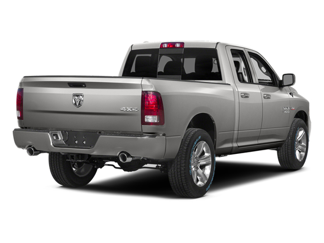 Bright Silver Metallic Clearcoat 2014 Ram Truck 1500 Pictures 1500 Quad Cab Sport 2WD photos rear view