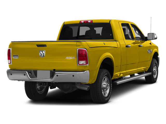 Yellow 2014 Ram Truck 2500 Pictures 2500 Mega Cab SLT 4WD photos rear view