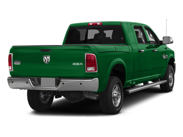 Bright Green 2014 Ram Truck 2500 Pictures 2500 Mega Cab SLT 4WD photos rear view