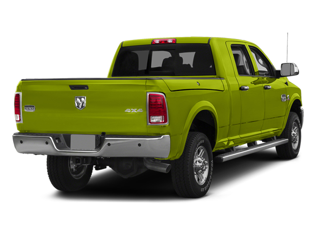 National Safety Yellow 2014 Ram Truck 2500 Pictures 2500 Mega Cab SLT 4WD photos rear view