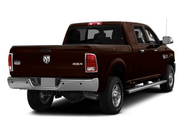 Western Brown 2014 Ram Truck 2500 Pictures 2500 Mega Cab Laramie 4WD photos rear view