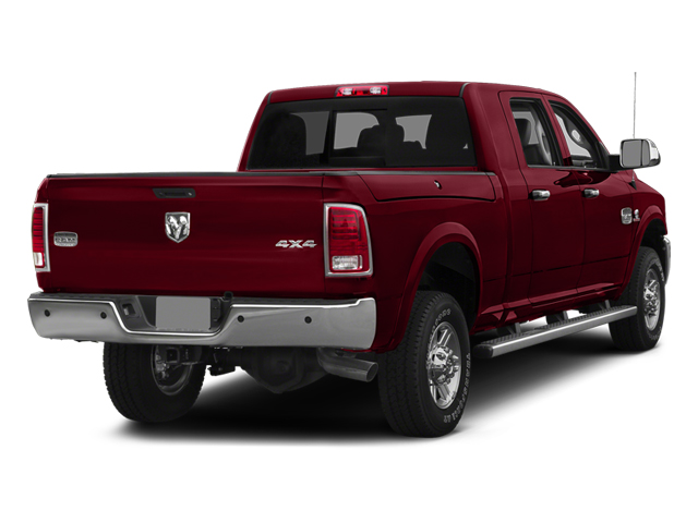 Deep Cherry Red Crystal Pearlcoat 2014 Ram Truck 2500 Pictures 2500 Mega Cab Limited 4WD photos rear view
