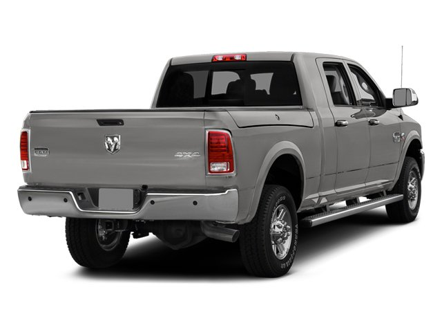 Bright Silver Metallic Clearcoat 2014 Ram Truck 2500 Pictures 2500 Mega Cab Limited 4WD photos rear view