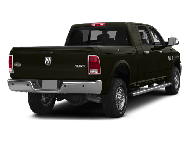 Black Gold Pearlcoat 2014 Ram Truck 2500 Pictures 2500 Mega Cab Laramie 4WD photos rear view