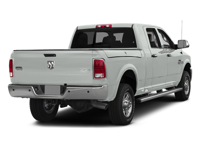 Bright White Clearcoat 2014 Ram Truck 2500 Pictures 2500 Mega Cab Limited 4WD photos rear view