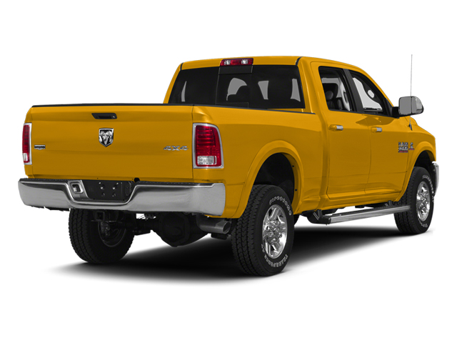 Construction Yellow 2014 Ram 2500 Pictures 2500 Crew Cab SLT 2WD photos rear view