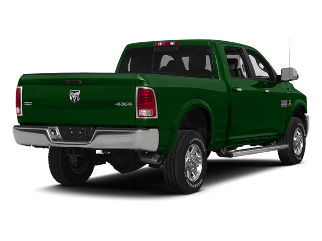Tree Green 2014 Ram 2500 Pictures 2500 Crew Cab SLT 2WD photos rear view