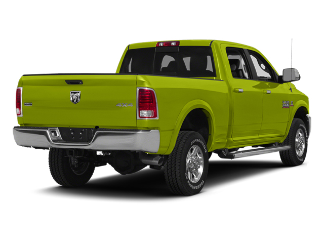 National Safety Yellow 2014 Ram 2500 Pictures 2500 Crew Cab SLT 2WD photos rear view