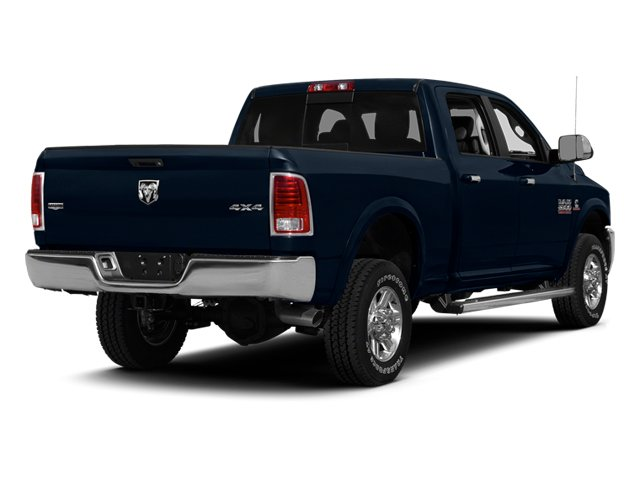 True Blue Pearlcoat 2014 Ram Truck 2500 Pictures 2500 Crew Cab Longhorn 2WD photos rear view