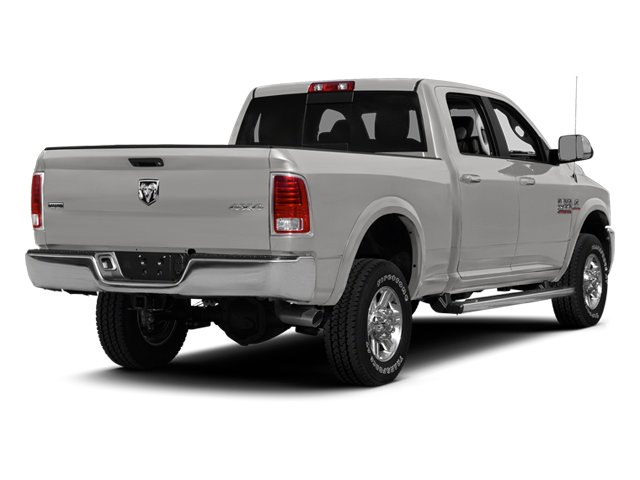 Bright Silver Metallic Clearcoat 2014 Ram Truck 2500 Pictures 2500 Crew Cab Longhorn 2WD photos rear view