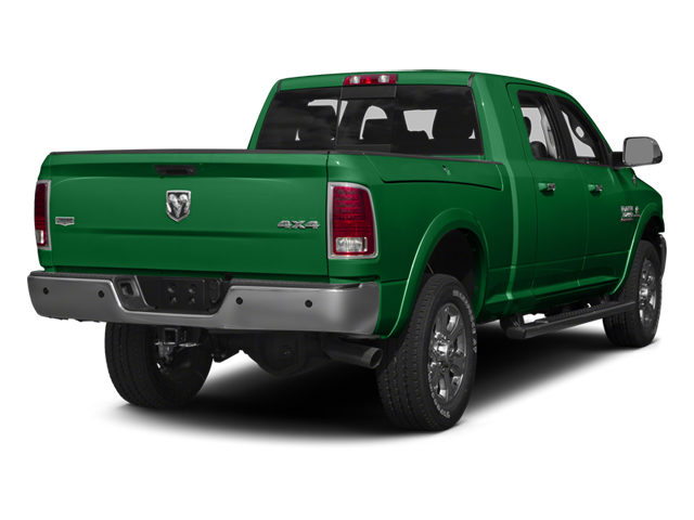 Bright Green 2014 Ram Truck 3500 Pictures 3500 Mega Cab SLT 2WD photos rear view