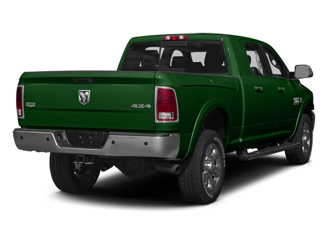 Tree Green 2014 Ram Truck 3500 Pictures 3500 Mega Cab SLT 2WD photos rear view