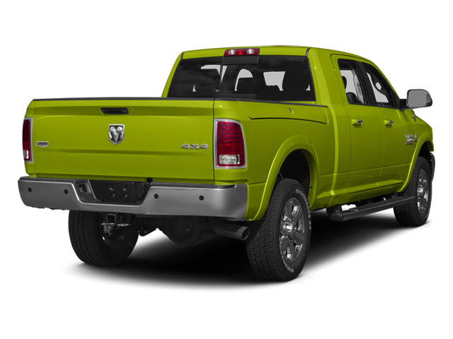 National Safety Yellow 2014 Ram Truck 3500 Pictures 3500 Mega Cab SLT 2WD photos rear view