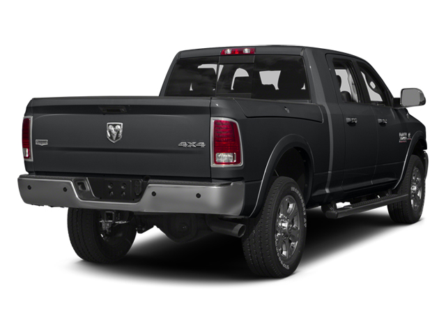 Granite Crystal Metallic Clearcoat 2014 Ram Truck 3500 Pictures 3500 Mega Cab SLT 2WD photos rear view