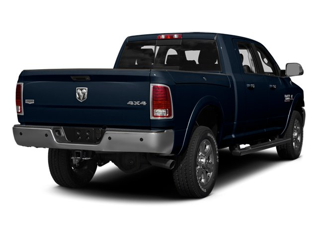 True Blue Pearlcoat 2014 Ram Truck 3500 Pictures 3500 Mega Cab Limited 2WD photos rear view