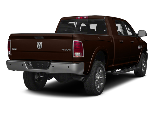 Western Brown 2014 Ram Truck 3500 Pictures 3500 Mega Cab SLT 2WD photos rear view